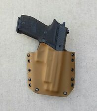OWB Coyote Brown Kydex Holster Sig Sauer P226 W/Rail