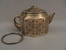 ANTIQUE 925 STERLING SILVER TEA STRAINER INFUSER BY AMCRAFT HIGHLY COLLECTIBLE