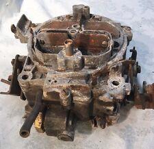 VTg QUADRA JET~7043208 QC~4 BBL CARBURETOR~1973~CHEVY~AUTO~none CA.(parts?)