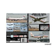 Dallas/Fort Worth Airport Aircraft Airline Aviation DVD Video-Brand New!