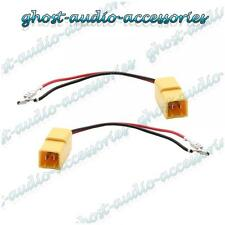 Pair of Speaker Connector Adaptor Lead Cable Plug for Seat