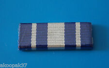 TASMANIA POLICE SERVICE MEDAL RIBBON BAR PLASTIC COVERED WITH 2 PINS