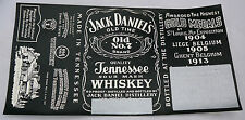 GENUINE VINTAGE JACK DANIEL'S TENNESSEE WHISKEY 90 PROOF LABEL Censored Whisky