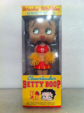 FUNKO BETTY BOOP SEXY CHEERLEADER BOBBLE HEAD WACKY WOBBLER BRAND NEW RETIRED