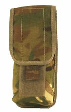 Used British MTP Osprey Mk4 MOLLE Webbing Double Mag Pouch (2/SA80 Mag)