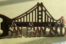 The Golden Gate Bridge, San Francisco Metal Fridge Magnet Beer Bottle Opener
