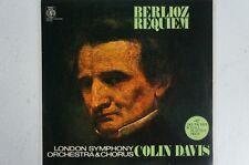 Berlioz requiem Colin Davis LSO et Chorus totale d'accueil 2 LP (lp31)