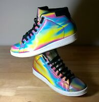 Mens trainers size 8 Adidas Stan Smith 80's Mid Rainbow very rare trainers UK 8