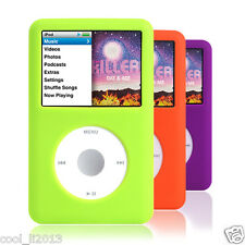 3 X For iPod Classic 80GB 120GB 160GB Silicone Rubber Skin Soft Gel Case Cover