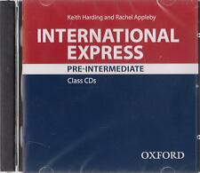 Oxford INTERNATIONAL EXPRESS 3rd Ed Pre-Intermediate CLASS CDs @New &Sealed