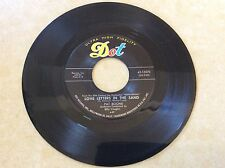 PAT BOONE - LOVE LETTERS IN THE SAND / BERNADINE - DOT 45 - EX