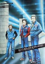 Elvis James Dean IM NIEMANDSLAND original Kino Plakat A1 Hans A. Guttner