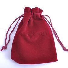 VELVET Jewellery Drawstring Gift Bag POUCHES Many COLORS SIZES To Choose