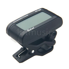 LED Clip-on Acoustic Tuner Automatic Chromatic Direct Coupled Vibration Sensor