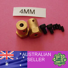 2 of 4mm to Hex Wheel Coupler for 12mm hex R/C wheel