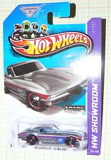 2013 Hot Wheels HW Showroom  '64 Corvette Sting Ray #204/250 GFL ZAMAC 008
