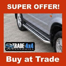 HONDA CRV SIDE STEPS RUNNING BOARDS BARS C2 CR-V STAINLESS STEEL CHROME 2002-06
