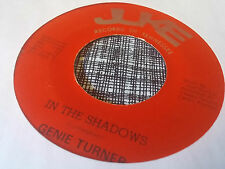 Genie Turner 45 In the Shadows/Heartache Wrapped in Blue Private Female Country