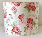 Cath Kidston Floral Lampshade Handmade 20cm Drum, Vintage, Shabby Chic