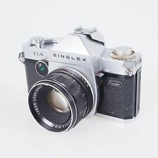 = Ricoh Singlex TLS 35mm Film SLR Camera Body with Rikenon 50mm f1.7 Lens Outfit
