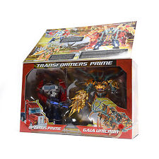 Transformers Exclusive Optimus Prime + Gaia Unicron Year Of Snake Roboter Kinder