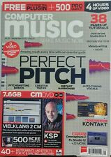 Computer Music UK Sep 2015 Perfect Pitch Creative Tricks Vocals FREE SHIPPING sb