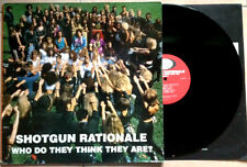 SHOTGUN RATIONALE / WHO DO THEY THINK THEY ARE ? - LP (FRANCE - 1989) EX+/EX