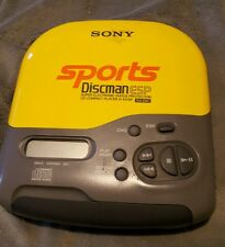 Sony Sports Discman CD Player D-451SP As-is