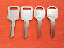 4 CADILLAC BUICK KEY BLANKS 1969 1973 1977 1981