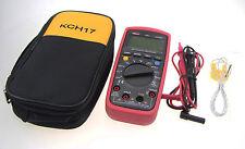 UNI-T UT139C True RMS LCD Digital Auto Range Multimeter AC/DC with Case KCH17