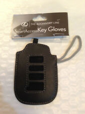 NEW Lexus leather Smart Key Cover FOB  2013 ES350 GS350 GS450h ES300h Oem 4 hole