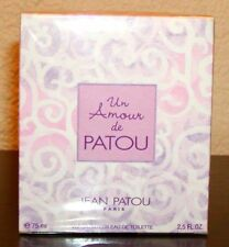 UN AMOUR DE PATOU by Jean Patou EDT for Woman 2,5oz / 75ml NIB SEALED RARE