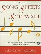Song Sheets to Software: A Guide to Print Music, Software, Instructional Media,