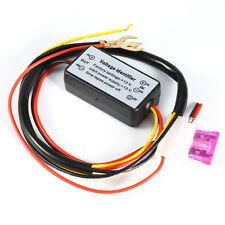 DRL Controller Car LED Daytime Running Light Relay Harness Dimmer On/Off 12-18V