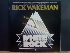 RICK WAKEMAN   White Rock  LP   RARE !   Lovely copy !!