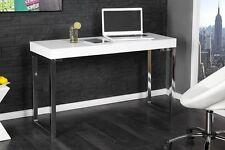 Laptoptisch Tavolo Scrivania ufficio Laptop da lavoro Bianco lucido 120