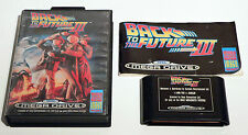 BACK TO THE FUTURE PART III BY IMAGE WORKS FOR SEGA MEGA DRIVE - TESTED WORKING