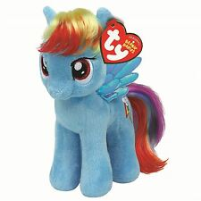 "My Little Pony Rainbow Dash Plush Soft Toy Small/ Beanie - 7"" Official Wings"