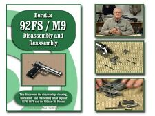 Beretta 92FS/M9 Instructional DVD (Disassembly and Reassembly) FREE SHIPPING!