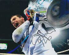 Petr CECH Signed Autograph 10x8 Photo AFTAL COA Chelsea CZECH Goalkeeper Genuine