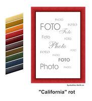 """Holz - Bilderrahmen  """" CALIFORNIA """"   viele Farben  /   viele Grössen"""