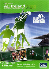 2008 GAA All-Ireland Football Final:  Tyrone v Kerry  DVD