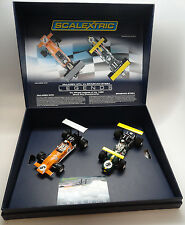 Scalextric Legends McLaren M7C & Brabham BT26A Limited Boxed Set C3589A