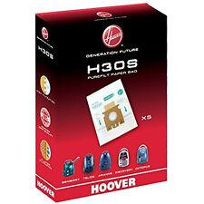 5 X Hoover H30S purefilt Bolsas para Aspiradoras sensorial Genuino H30 Super