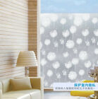 Decorative window film stained glass vinyl paper privacy covering statIc frosted