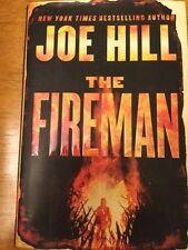 SIGNED IN PERSON JOE HILL The Fireman  2016, HCDJ 1ST/1ST & INCLUDES DOODLE! WOW