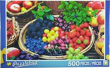 NEW Puzzlebug 500 Piece Puzzle - Berry Fruits - FREE SHIPPING