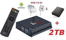 pi Mini PC Android Mediacenter Hdd 2TB 4K DVB-T2-S2 Kodi Audio Video Recorder