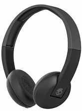 Skullcandy Uproar Wireless On Ear Headphones with TapTech - Black/Grey