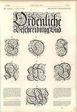 1862 descrizione della città di GERUSALEMME Tipografia Lettere Maiuscole OPERA D'ARTE